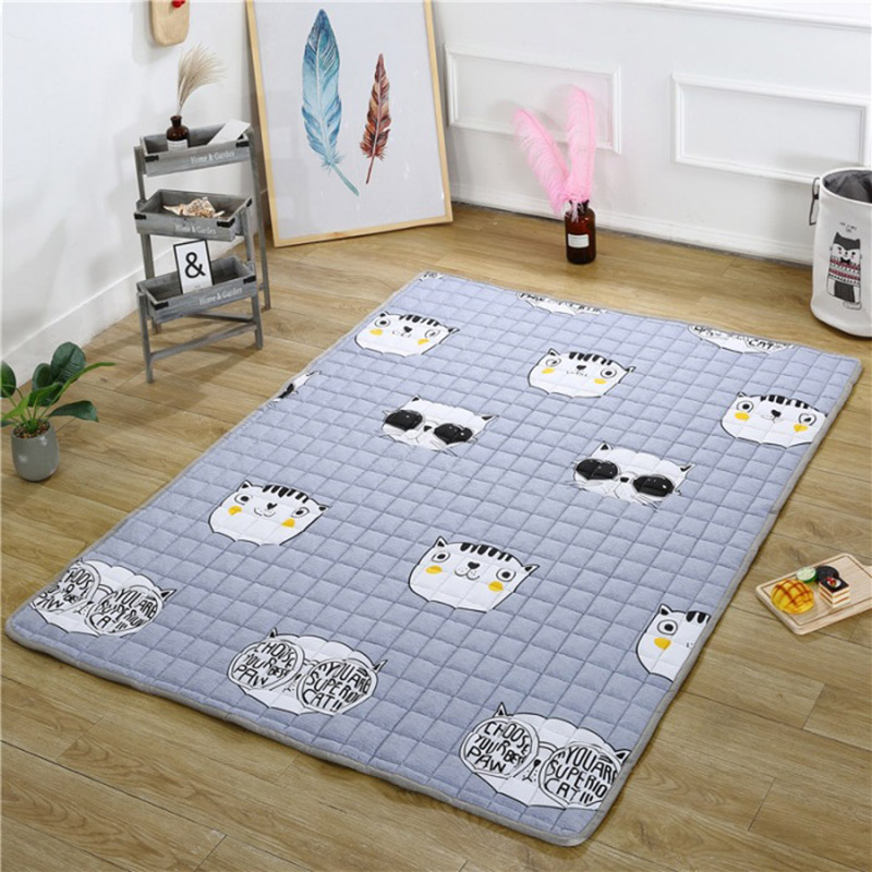 2.5cm quatre saisons épais bébé coton tapis d'escalade antidérapant bébé ramper tapis salon tapis de sol chambre tapis pour bébé cadeau - 6