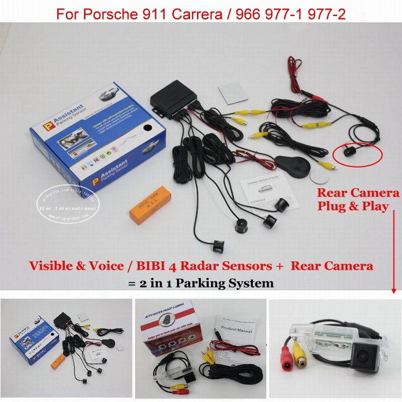 ③Liislee para Porsche 911 Carrera 966 977-1 coche Sensores de ...