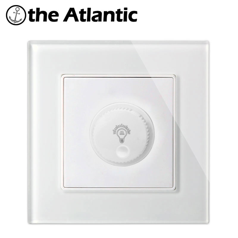 Atlantic 4 Color Smart Home Dimmer Switch Crystal Tempered Glass Light Lamp Rotary Dimming Control Wall Switch Big Sale палатка сплав atlantic 4 цвет зеленый