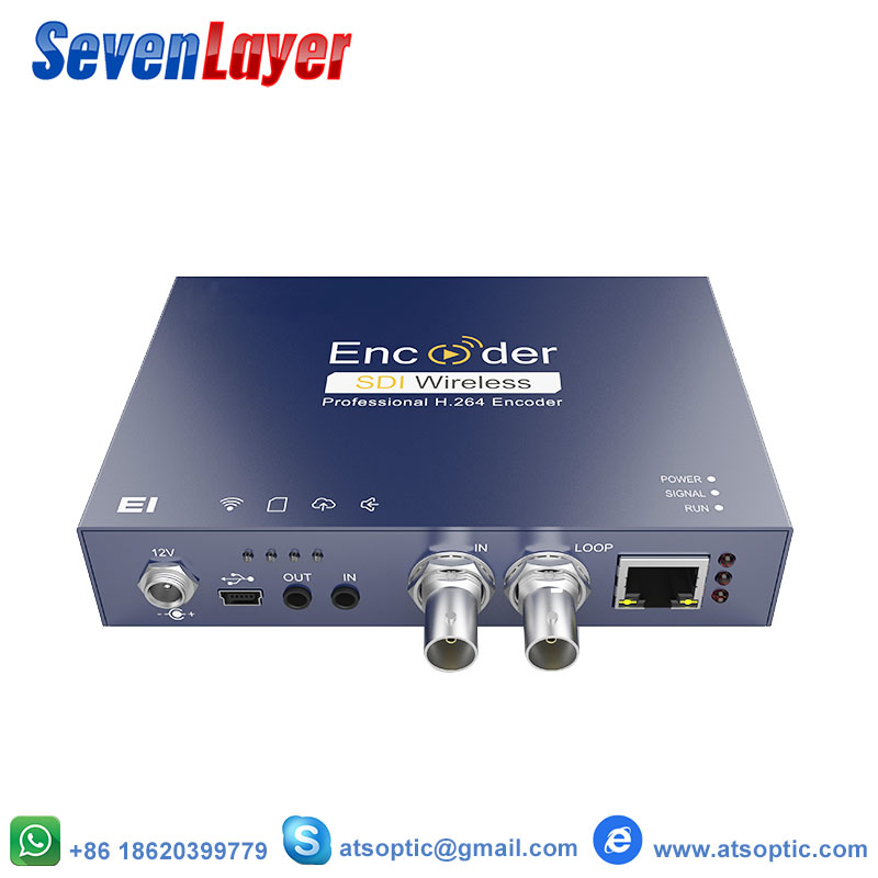 H.264 1080P HD SDI IPTV Streaming Video Encoder