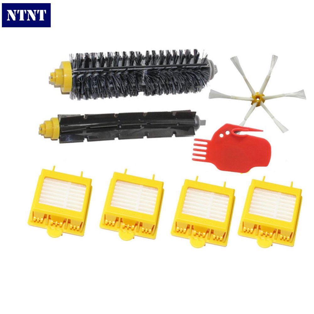 где купить NTNT Free Post New 6 Armed Brush + Filters + Tool for iRobot Roomba 700 Series 760 770 780 Clean дешево