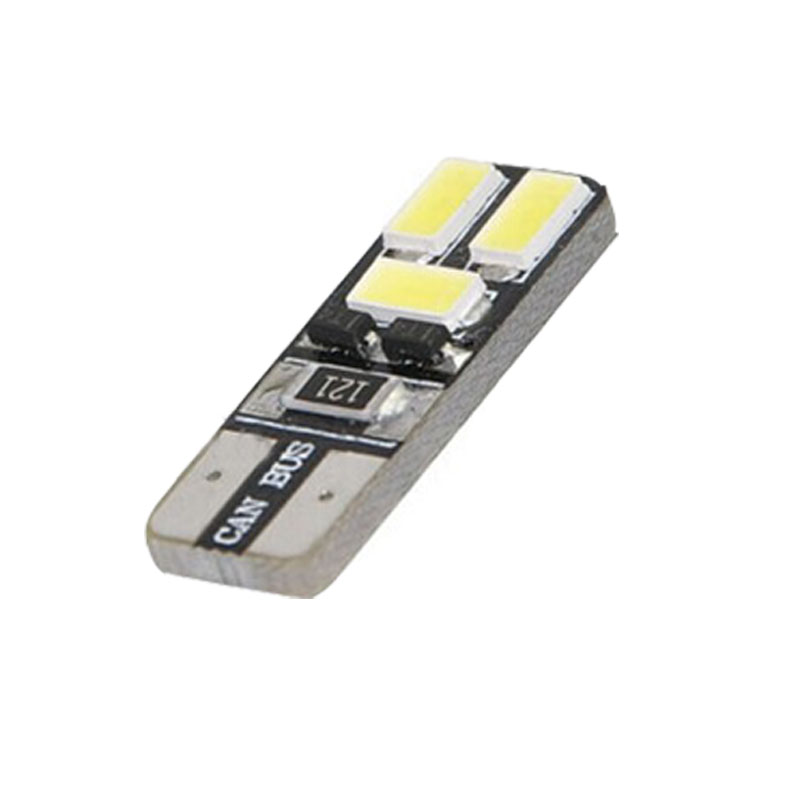 kongyide Healight Bulbs High Bright White Canbus 5730 5630 SMD Error Free T10 6 LED Light 210LM NOV9