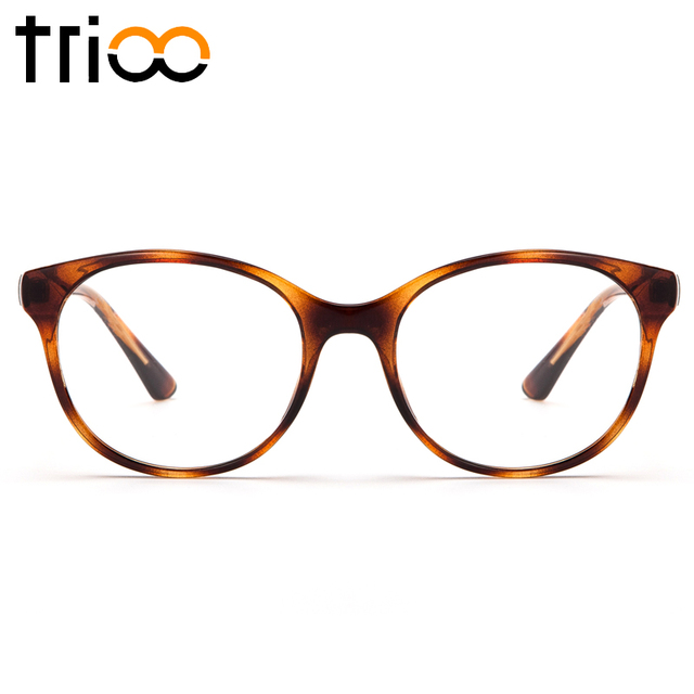 Aliexpress.com : Buy TRIOO Fashion Tortoise Color Women Glasses ...