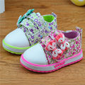 Kids Autumn Shoes For Baby Girls Princess Shoes Infant Baby Toddler Shoes Soft Casual Sneaker Child Breathable Canvas Shoes