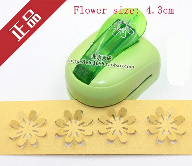 Free Shipping Super Large Size 3D DIY Shaper Punch Craft Scrapbooking Flower Paper Puncher Flower Set 1pc