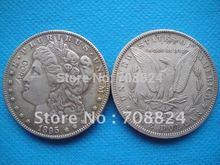 90% silber morgan dollar 1895 whole-verkauf freies verschiffen