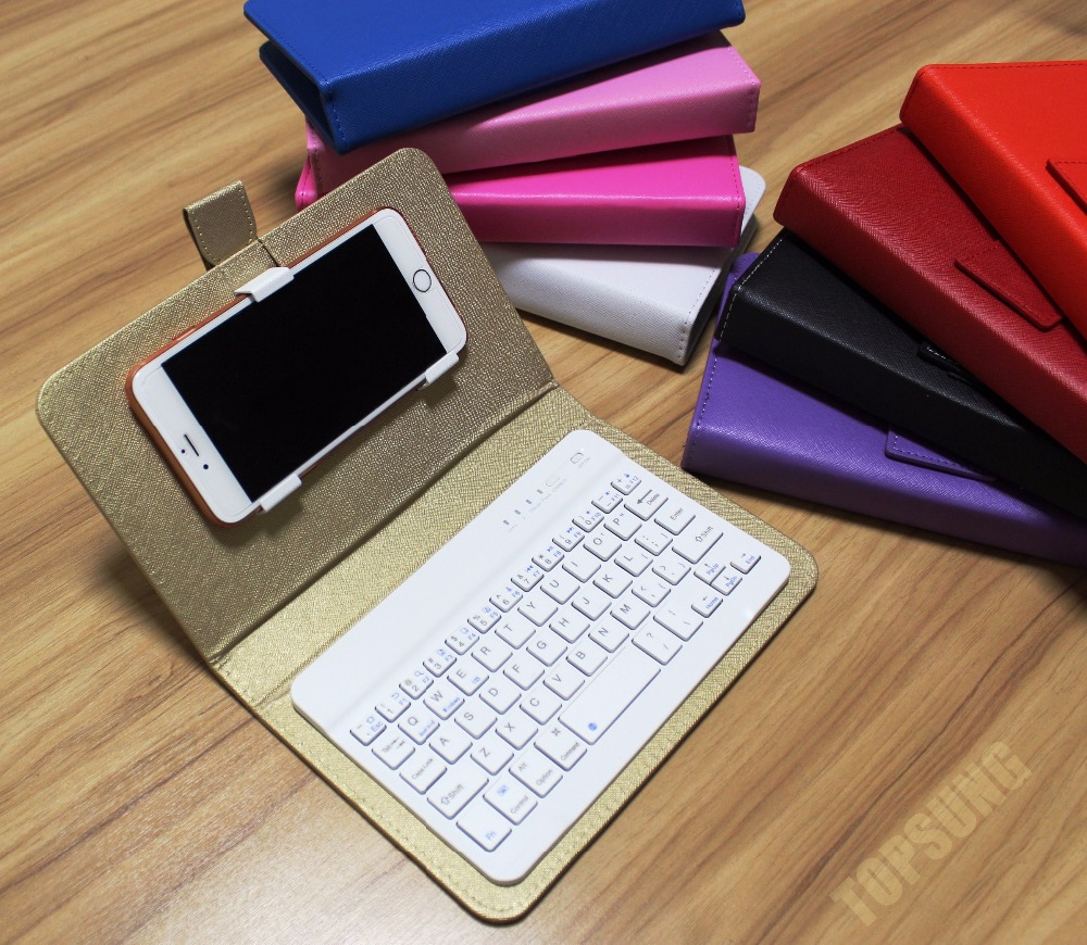 9 Color Universal Bluetooth Keyboard Mobile Phone Case Pu Leather Stand Holder For Iphone Lenovo Samsung Huawei Xiaomi Zte Sony For Iphone Mobile Phone Casesphone Cases Aliexpress