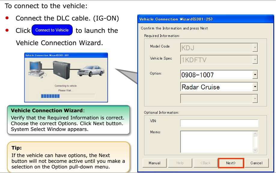 GTS tis 3 OTC scanner Professional FOR Toyota IT3 Global Techstream GTS OTC display 1