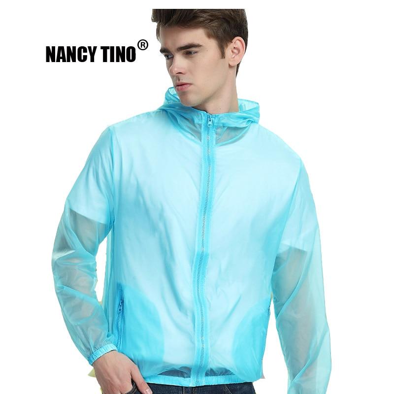 NANCY TINO Sun Protection Jacket Women Quick Dry Breathable Anti-UV Coats Beach Clothing Cycling Hiking Unisex Skin Jackets Men