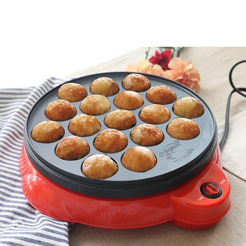 Grande vente 220 V électrique poulpe boules fabricant Machine antiadhésive ménage électrique petit déjeuner boulanger Machine EU/AU/UK/US Plug