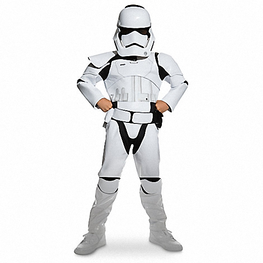 Multiple Sizes Available Star Wars Clone Trooper Child Boy/'s Costume