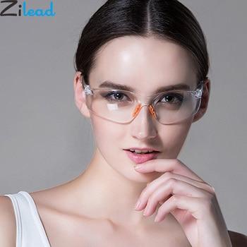 Zilead Ultralight Women&Men Yellow Plain Glasses Soft Dustproof Windproof Outsoor Sports Goggles Eyewear Glasses Unisex