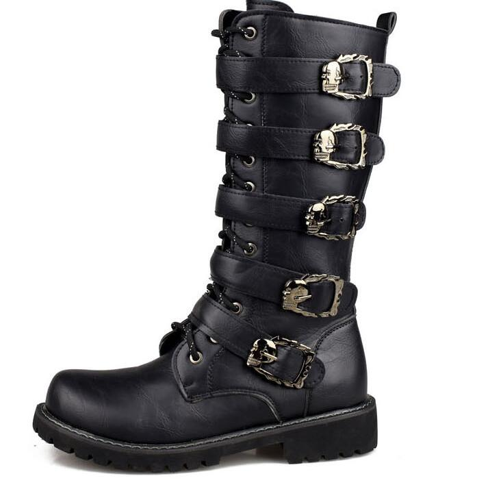 Popular Strap Combat Boots-Buy Cheap Strap Combat Boots lots from ...