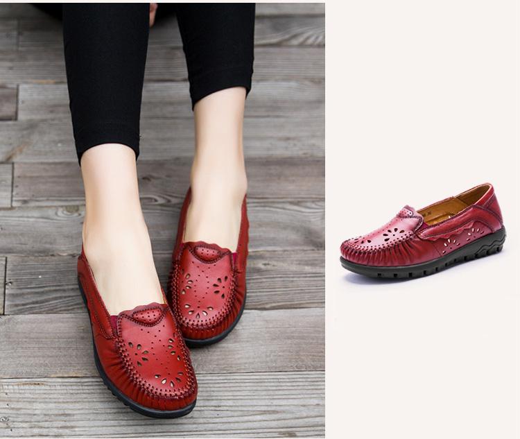 Einzelnen Schuhen Handgemachte Frau 18