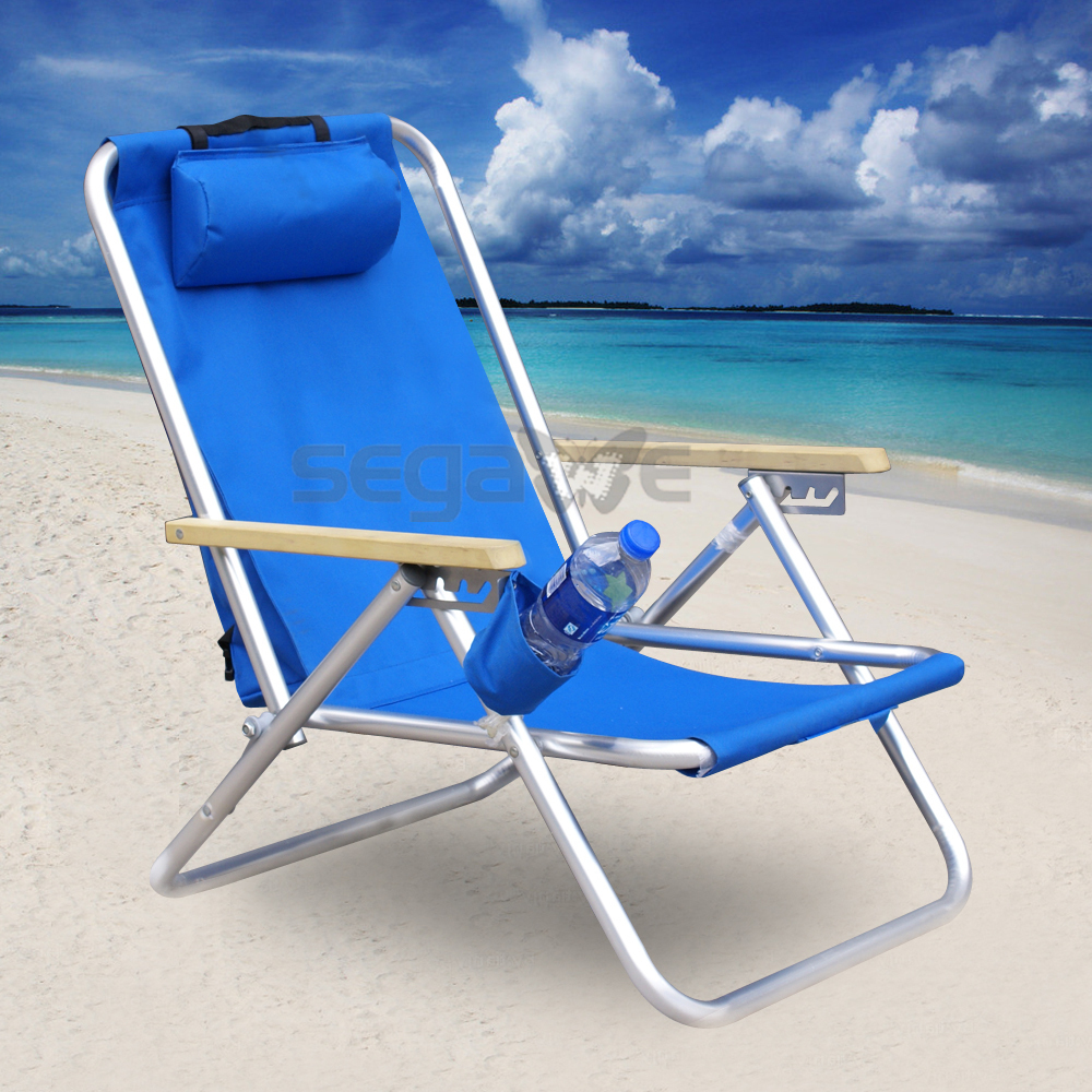 Mochila silla de playa silla plegable silla port til - Silla camping plegable ...
