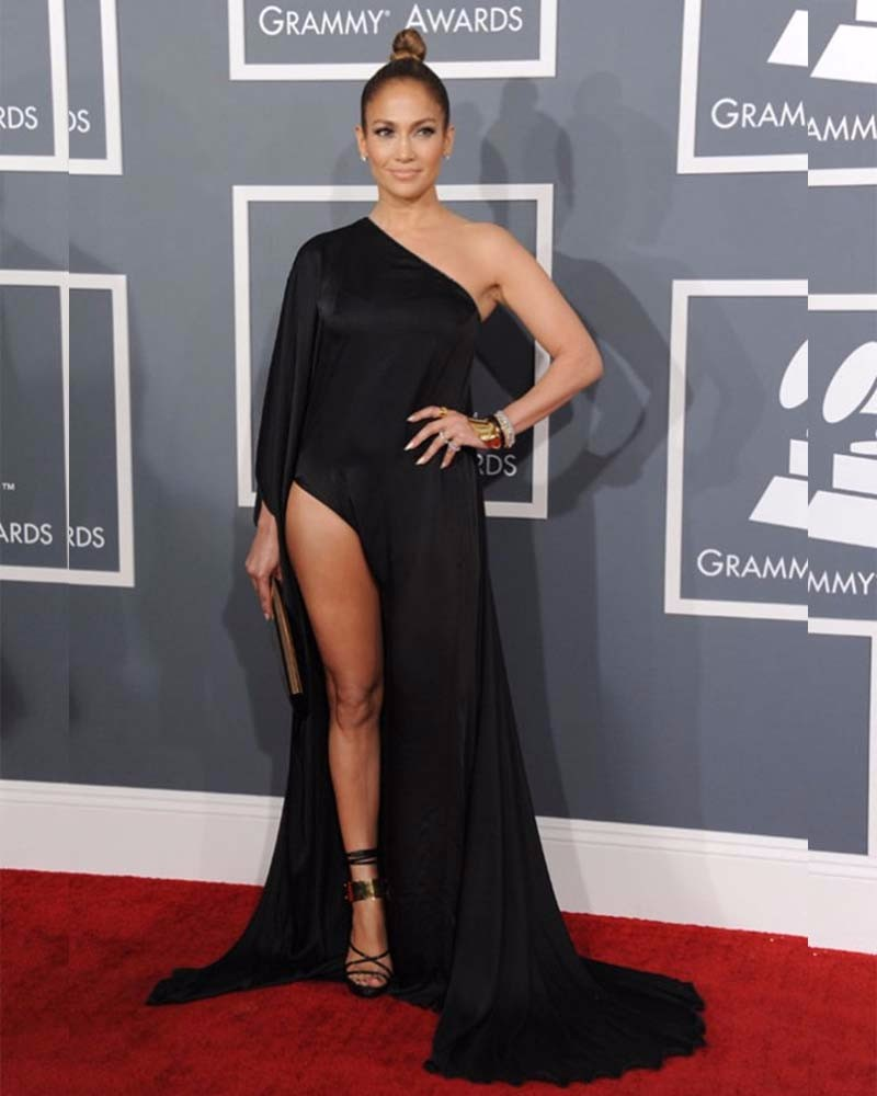 Beyonce-Red-Carpet-55th-Grammy-Awards-One-Long-Sleeve-Evening-Celebrity-Dresses