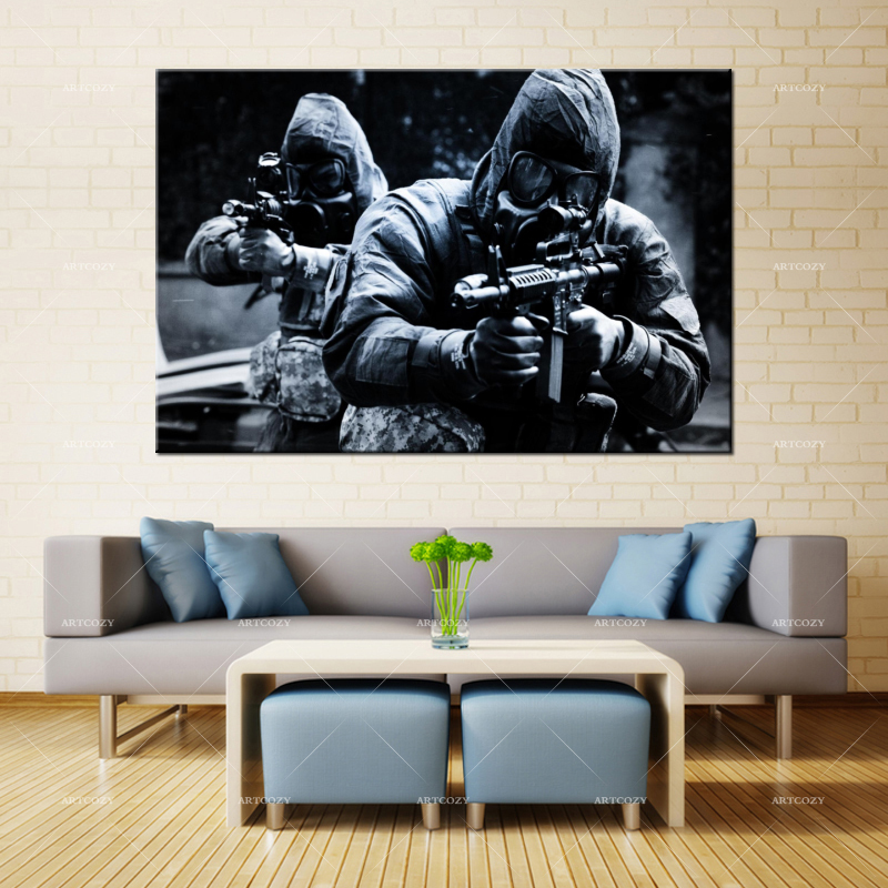 Artcozy Canvas Painting Wall Art US Special Forces