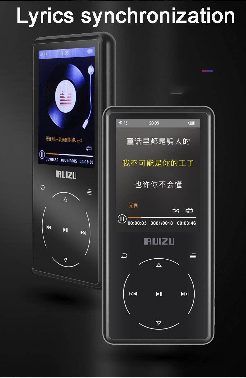 player bulit-in alto-falante com rádio fm gravador