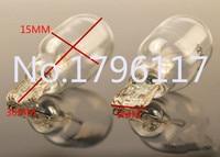 50Pcs T15 W16W W2.1X9.5d 12V 18W E4 Auto Car Reverse Light Bulb Wedge push in type bulb Car Interior Light Halogen Gauge Lamp