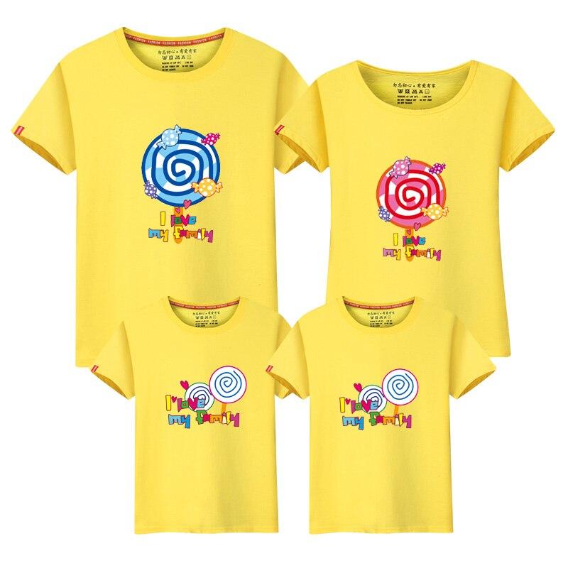 Neue Familient-shirts Sommeroberseitenfamilienblickmuttervati-Baby, - Kinderkleidung - Foto 2