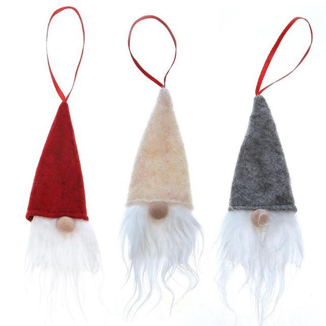 5 unids de  Santa Claus para árbol de Navidad