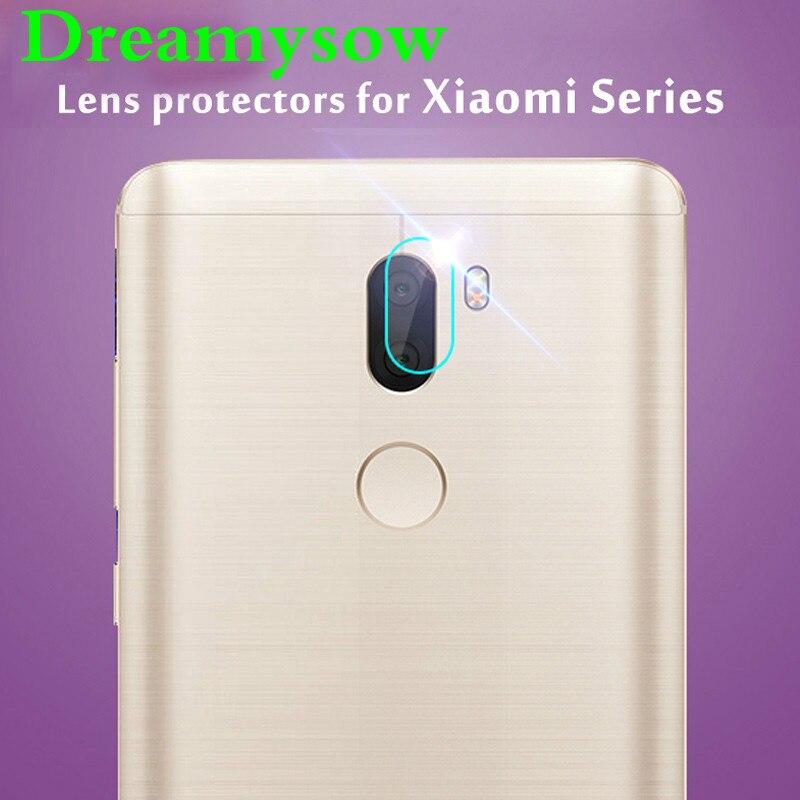 Dreamysow Rear Back Camera Len Protector for Xiaomi Mi 5 5S Plus 5X 6 Max Mi5 Mi5S Mi6 Redmi Note 4 4X Tempered Glass Film