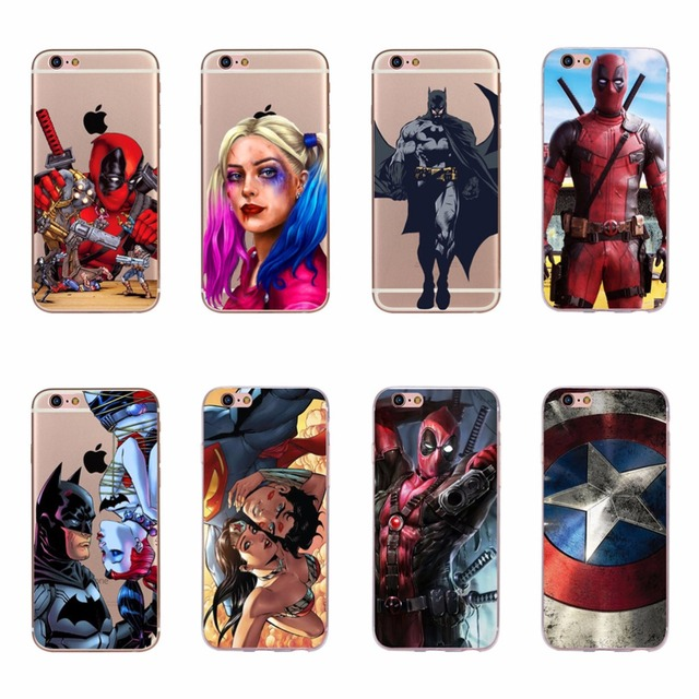 coque deadpool iphone 8
