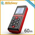 Mileseey s2 60m laser rangefinder measuring tool laser distance meter Mute Button diastimeter Red