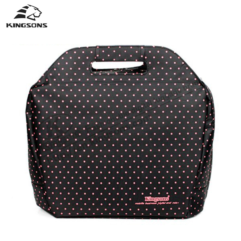 Kingsons 14 Inch Notebook Laptop Totes Briefcase Shockproof Multi Purpose Should