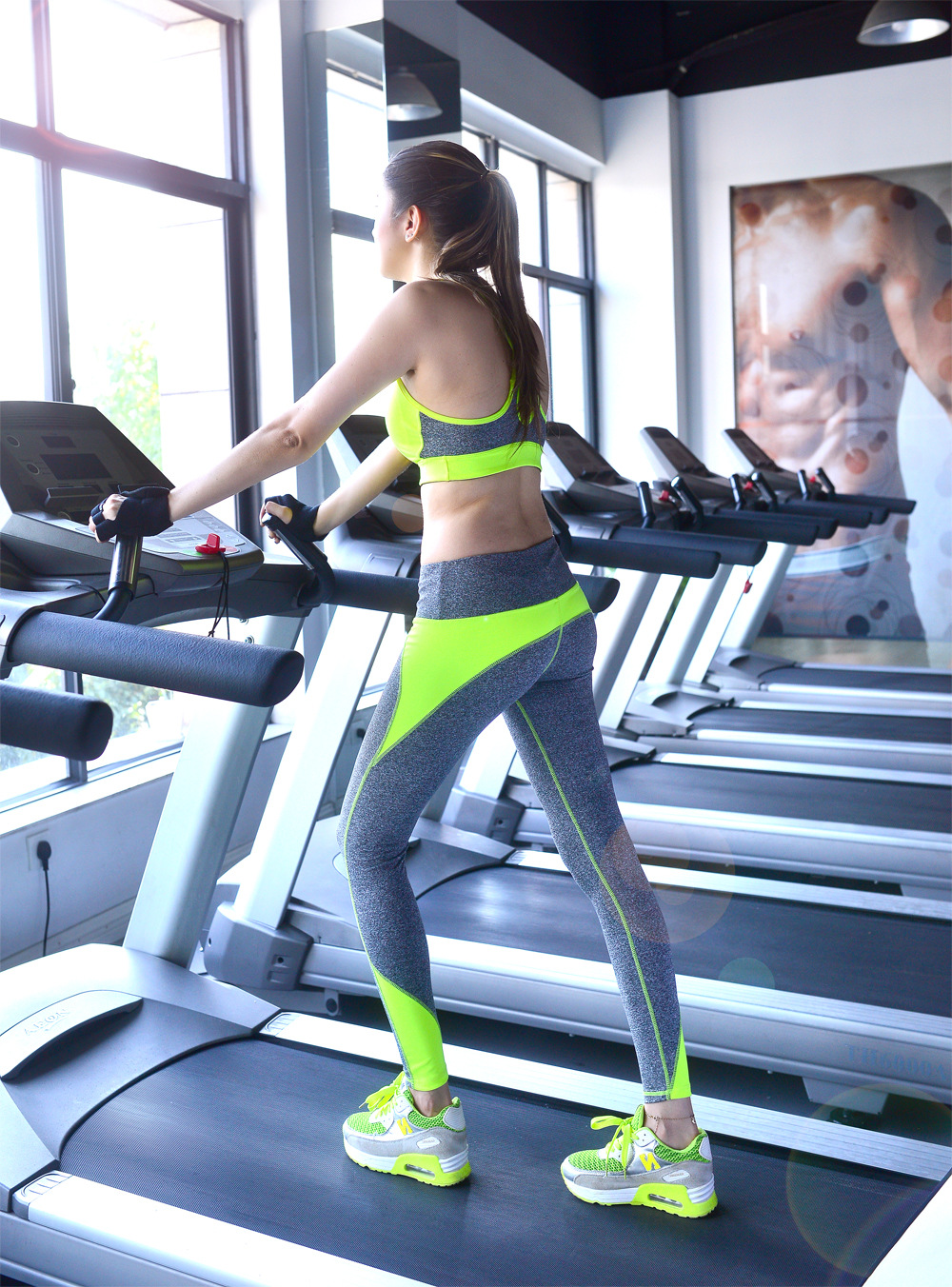 Women s yoga sets sport suit workout clothes female fitness sports - Aliexpress Com Buy 2017 Women Yogaing Sets Bra Pants Fitness Workout Clothing And Women S Gymming Runs Slim Leggings Tops Sporting Suit For Female From