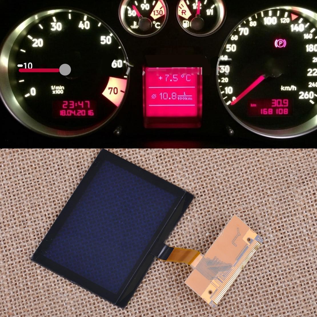 CITALL Cluster di Tachimetro Display LCD di Ricambio Dello Schermo di Misura Per Audi A3 A6 C5 TT 8N Serie 1999 2000 2001 2002 2003