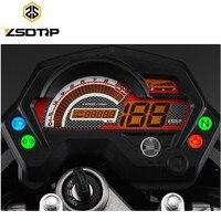 Free shipping ZSDTRP Motorcycle digital speedometer meter used for Yamaha FZ 16 FZ16 motor