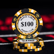 Керамика покерные фишки 14 г Декодер каналов кабельного телевидения глиняные монеты казино 40 мм фишки для покера развлечений доллар монеты 3 шт./упак