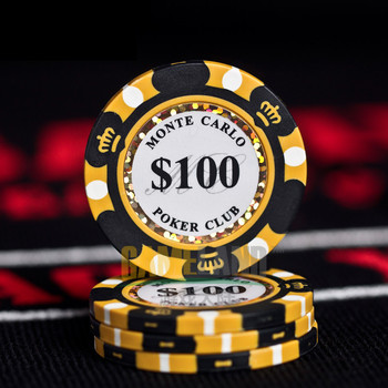 Jetons de Poker en céramique Style Monte Carlo 1