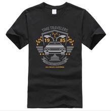 цена на hot Back to the Future T Shirt Men Classic Movie Series T Shirts Mens New Summer T Shirts Camiseta Casual T-Shirt Tops Tee XXXL