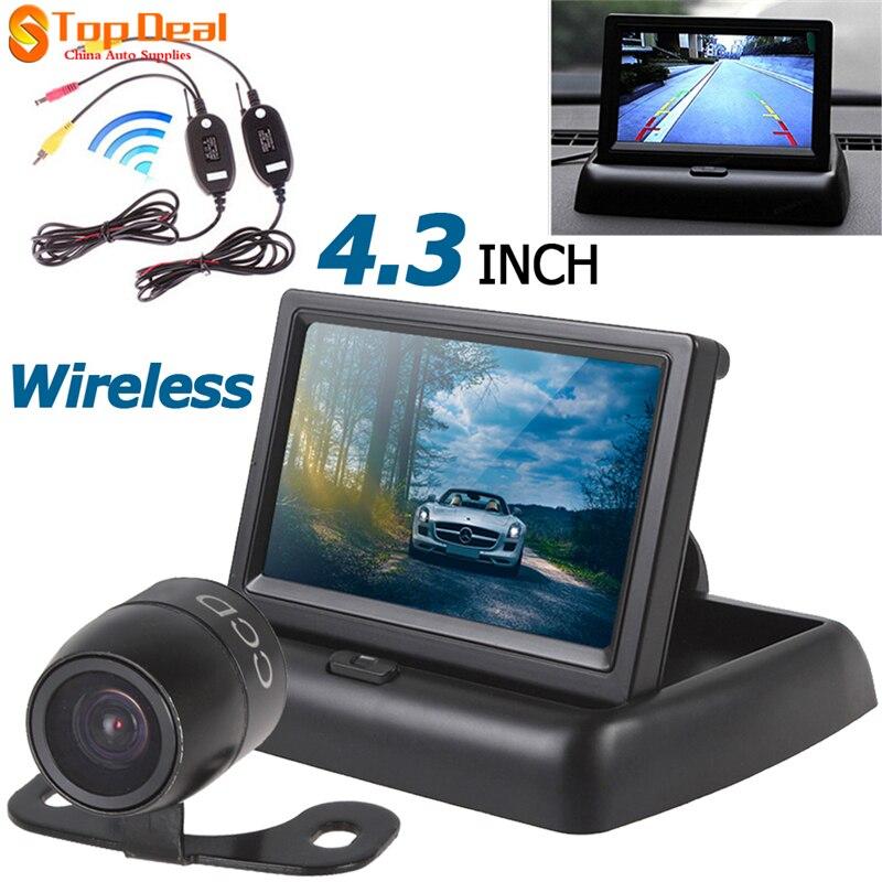 Epathchina Heißer Verkauf 4,3 Zoll Auto Monitor TFT LCD Auto-hintere Ansicht-monitor +...