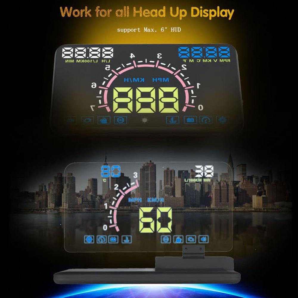 Car HUD Heads Up Display Mobile Phone GPS Navigation Image