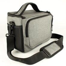 DSLR сумка для камеры на ремне для Canon EOS 6D 5D Mark IV II 80D 800D 750D 200D 1500D Nikon D3400 D5300 D5600 D7200 D7500 чехол