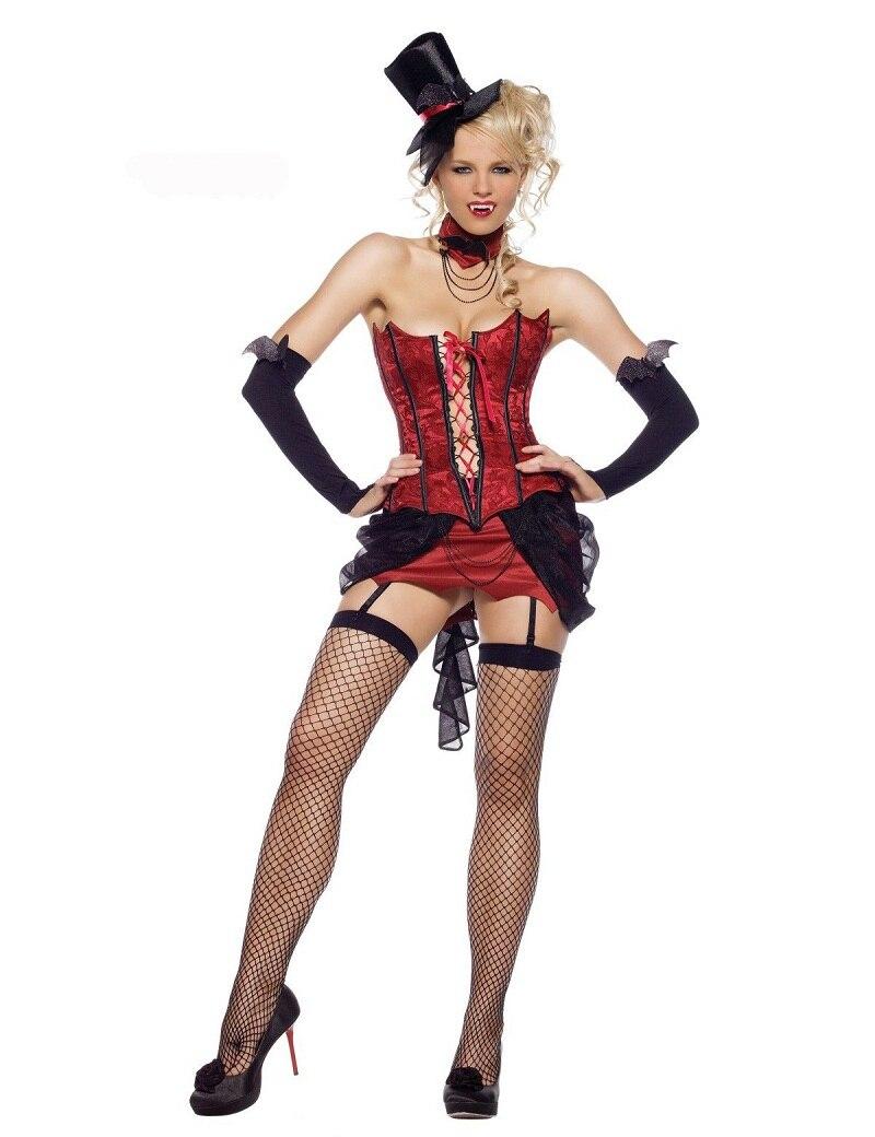 Sexy Vampire Love Bite Adult Women's Costume Deluxe Adult Womens Magic Moment Costume Adult Halloween Fancy Dress W208990