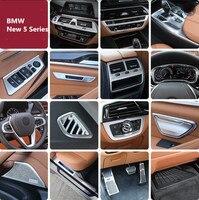 Для 18 19 BMW новый 5 серия модифицированный интерьер 525li530i540 карбоновое волокно мультимедийная чашка воды декор для полки
