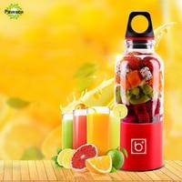 500ml USB Electric Fruit Juicer Handheld Smoothie Maker Blender Juice Cup Summer Milkshake Making Juices Fruits