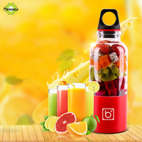 500ml USB Electric Fruit Juicer Handheld Smoothie Maker Blender Juice Cup Summer Milkshake Making Juices Fruits