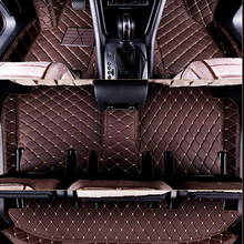 Good quality mats! Custom special car floor mats for Chevrolet Traverse 7 seats 2016-