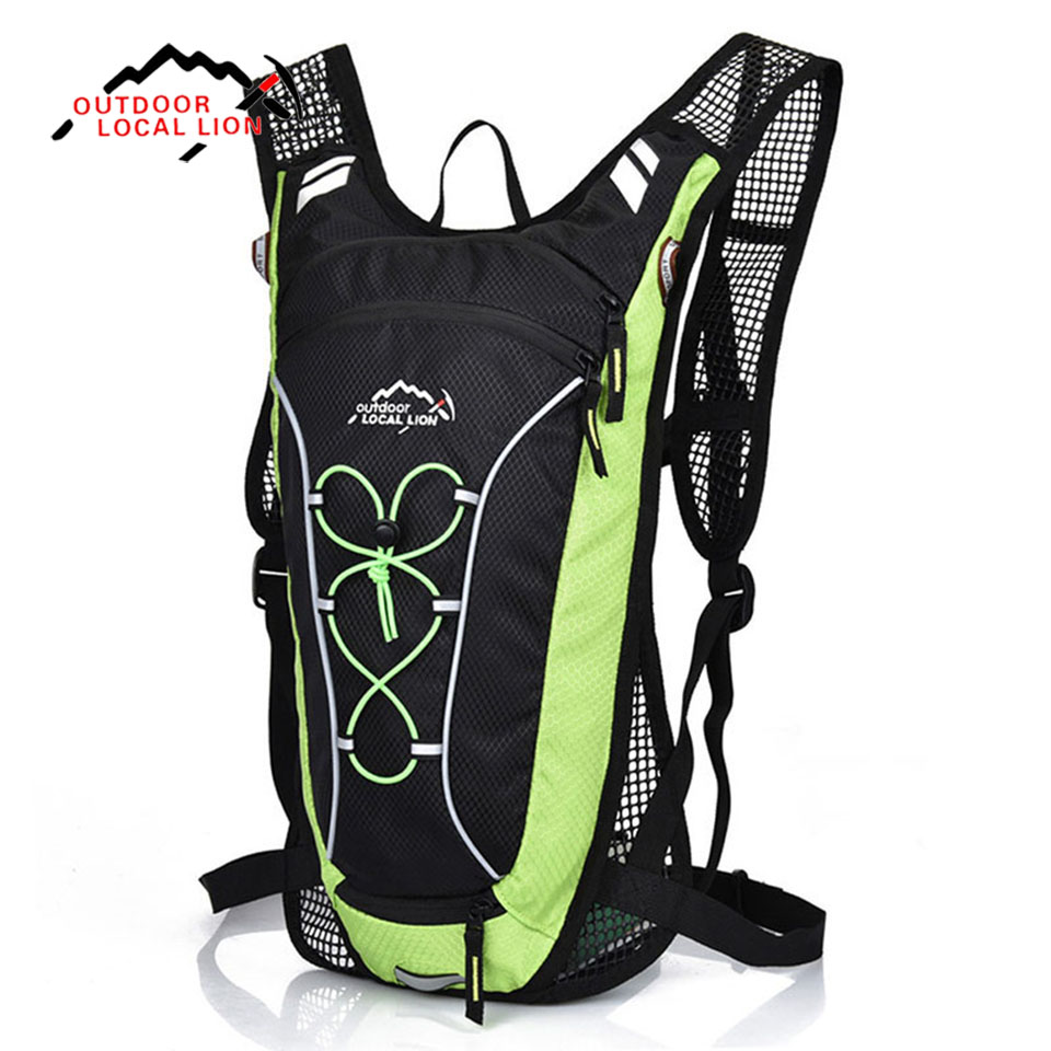 Outdoor Sport Bag LOCAL LION 12L Bicycle Backpack Rucksacks Riding Road Hiking Climbing Camping Travel Backpacks Bicycle Bags local lion professional outdoor travel backpack mountain climbing bicycle backpack camping hiking bag 25l cycling bag