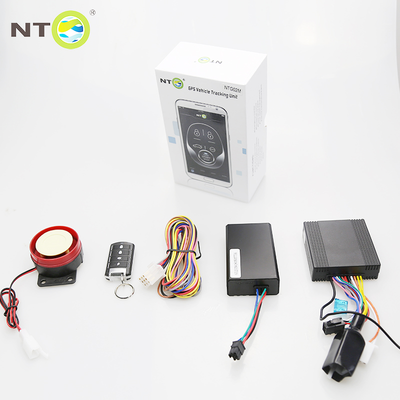 GPS Motorcycle Alarm system / Remote Engine start and stop function by app and GPS tracking for mobile control NTG02M