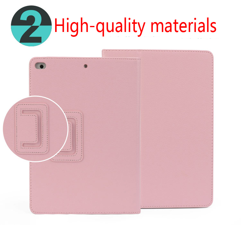 Case For iPad Air 1 Air 2 Smart Stand Auto Sleep  Wake UP Style For iPad Air 2 Retina Retro Flip Flexible Stand Slim Cover (5)