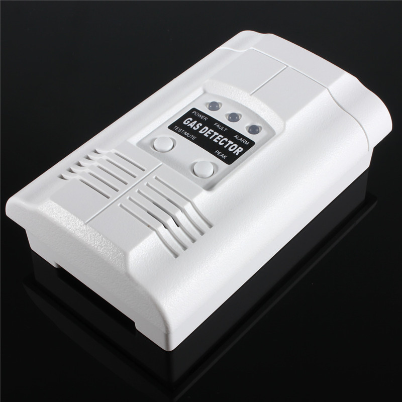 Natural Gas Coal Gas Town Gas Propane LPG LNG Gas Leak Sensor Warning LED Warning Light Alarm Detector Tester Home Security golden security lpg detector wireless digital led display combustible gas detector for home alarm system