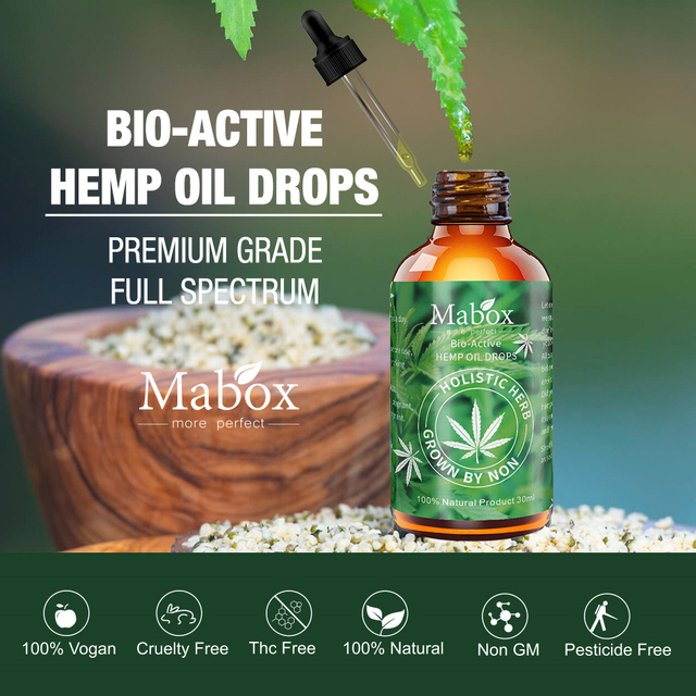 Organic Hemp Seed Oil: Pure Essential 30 ml