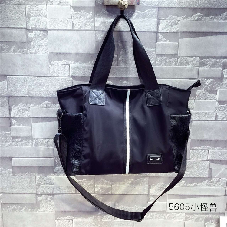 Online Buy Wholesale nylon tote bags with leather handles from ...