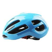 2017 Сверхлегкий Велосипедный Шлем Велоспорт шлем Дорожный Велосипед Шлем Шлем Полностью литой Корпус 56-61 СМ 200 г велоспорт